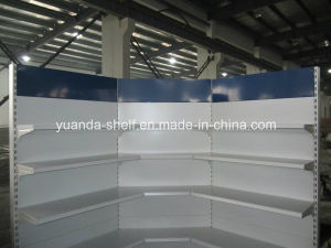 Top Quality Factory Price Supermarket Inner Corner Wall Shelf Shelving pictures & photos