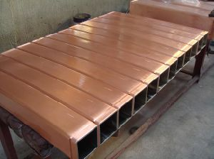 Round/ Square/ Rectangular/ H Shape Copper Mould Tube for CCM Crystallizers pictures & photos