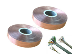 Insulation Materials Copper Mylar Foil Tape for Cable Shield pictures & photos