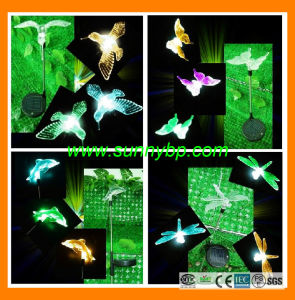 Color Changing Solar LED Garden Light Charged pictures & photos