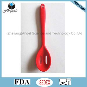Heat Resistant Silicone Slotted Kitchen Spoon Silicone Kitchenware Set Sk16