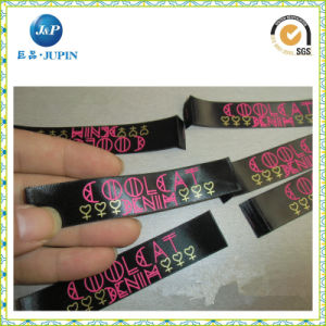 Factory Customized Satin/Silk Polyester Cloth Care Wash Label (JP-CL057) pictures & photos