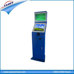 Library Floor Standing Touch Screen Interactive Kiosk Terminal Machine pictures & photos
