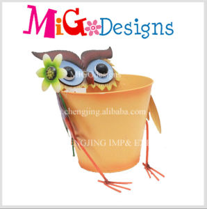 Wholesale China Supplier Charming Baby Sheep Animal Garden Metal Planter pictures & photos