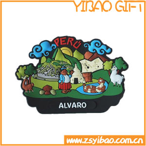 High Quality PVC Fridge Magnet with Customize Logo (YB-d-003) pictures & photos