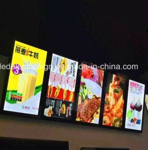 Ultra Slim LED Menu Board Light Box pictures & photos