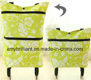 Fashion Wheeled Handle Trolley Shopping Bags pictures & photos