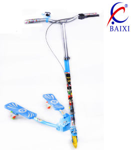 Skate Scooter for Kids/ Children with Flashing Wheel (BX-WS001) pictures & photos