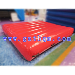PVC Water Inflatable Sponge Track/Inflatable Air Cushion for Water Park pictures & photos