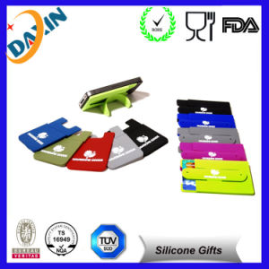 Silicone Mobile Holder Self Adhesive Slim Phone Stand pictures & photos