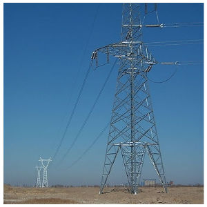 High Voltage Power Transmission Tower/Steel Structure
