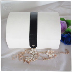 Factory Sale PU Leather Jewellery Suitcase Box