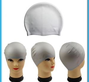 Silicone Swim Cap with Granules Inside pictures & photos