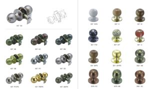 Hot Sale South America Cylindrical Knob Door Lock pictures & photos