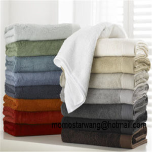Promotional Bamboo Bath Towel Bath Sheet of Multi Colours pictures & photos