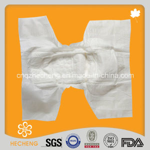 Disposable Ultra Thick High Quality Stock Adult Diaper pictures & photos