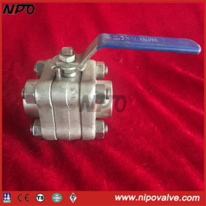 Forged Stainless Steel Threaded Ball Valve pictures & photos