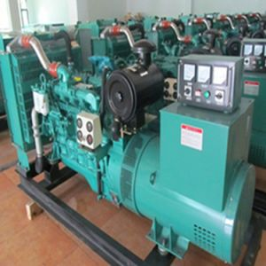 Cummins Engine 40kw 50kVA 4BTA3.9-G2 Open Type Marine Diesel Generator with Deepsea Controller pictures & photos