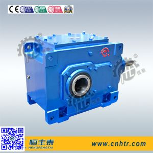 Hb Series High Power Industrial Right Angle Vertical Type Bevel Gear Unit pictures & photos
