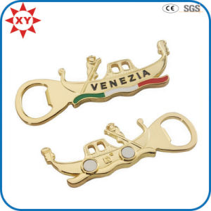 Wholesale Personalized Gold Magnetic Bottle Opener pictures & photos