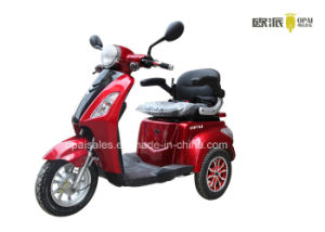 Electric Mobility Scooter 3-Wheel Electric Tricycle 1kw E-Scooter pictures & photos