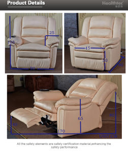 One Year Warranty Recliner Sofa (A050-S) pictures & photos