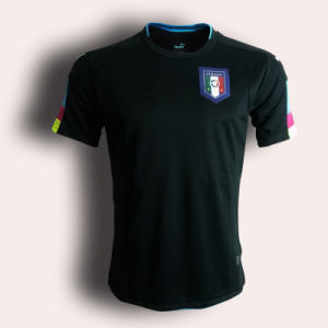 2016/2017 New Italy Black Soccer Jersey, Football Uniform pictures & photos