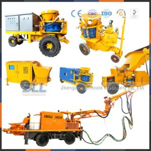 Manufacture Factory Dry Mix Cement Sand Concrete Shotcrete Machine pictures & photos