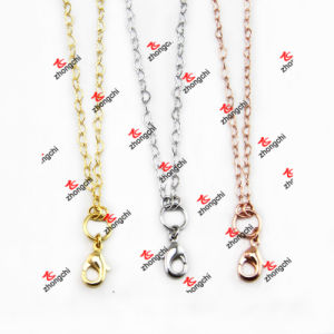 Fashion Customized Brass Link Chain Necklace for Souvenir Gifts (BCS50829) pictures & photos
