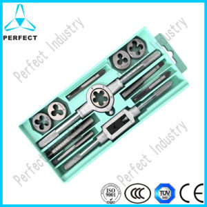 High Quality Thread Cutting 12PC Tap and Die Set pictures & photos