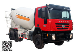 Genlyon 380HP 6X4 Concrete Mixer Truck pictures & photos