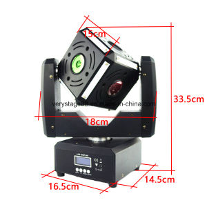 6X10W Multi Effect Beam DJ Disco LED Cube Moving Head Light pictures & photos