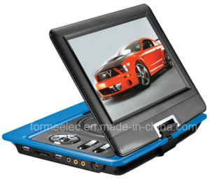 10.1inch LCD Portable DVD Player with Analog TV Games pictures & photos