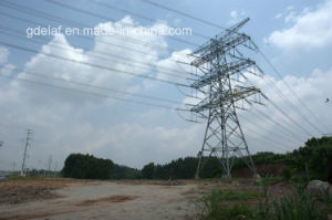 Power Line Tower Tubular Galvanized Steel Tower
