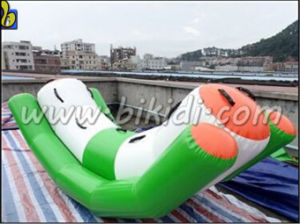 CE Standard Inflatable Water Totter Games Water Seesaw Inflatable Water Parks D3019 pictures & photos
