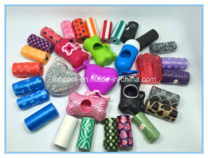 Rhinestone Waste Bag Holder with Logo/ Wholesale Pet Products pictures & photos