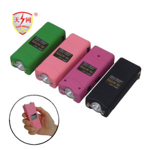 2017 Strongest Mini Colorful Stun Guns with LED Lighting for Personal Defense-Pink (TW-801) pictures & photos