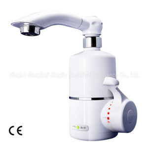White Electric Instant Heating Faucet Kbl-2c