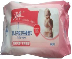 Spunlace Nonwoven Soft Baby Care Hand Wipes pictures & photos