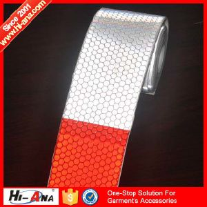 Custom Made Print Logo High Visibility Road Reflective Tape pictures & photos