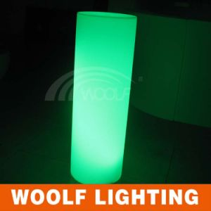 Rechargeable Illuminated LED Clear Plastic Pillars pictures & photos