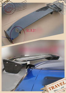 Carbon Fiber SLR Style Spoiler for Suzuki Swift 2005-2008 pictures & photos