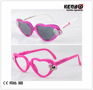 Heart Shape Children′s Sunglasses. Kc515 pictures & photos