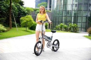Hot Selling New Product 20 Inch 48V 10ah Hot Selling Ce Approval Folding Electric City Bicycle Bike with Brushless Motor Ebike