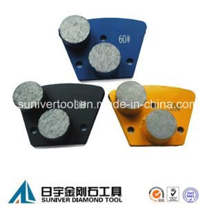 Double Segment Grinding Metal Bonded Trapezoid Diamond pictures & photos