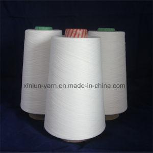 Pure Virgin Ne40/1 Knitting Polyester Spun Yarn pictures & photos