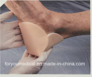 Medical Products Wound Care Super Absorbent Heel 3D Non Border Foam Dressings pictures & photos