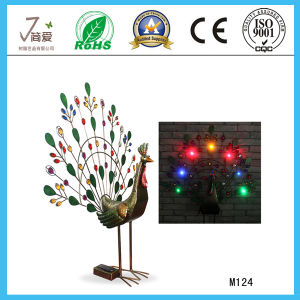 Metal Peacock Iron Art and Craft for Home Decoration pictures & photos