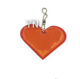 Red Heart Reflective Key Chain pictures & photos