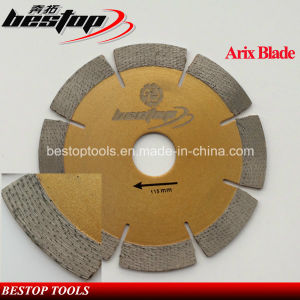 Arix Segmented Diamond Blade for Granite Stone Dry/Wet Cutting pictures & photos